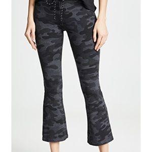 More in stock! Sundry camo kick flare pants NWT
